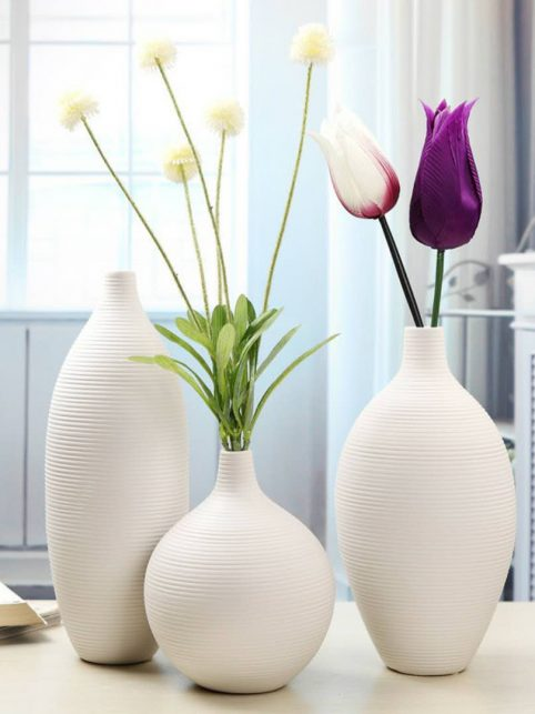 Beautiful home decor - Flower container vases
