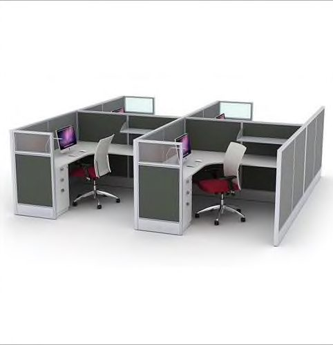 Aluminium-Workstation-Partition